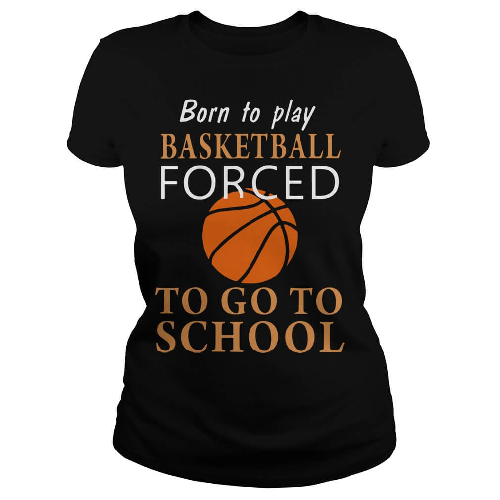 Born to play Basketball forced to go to school ladies