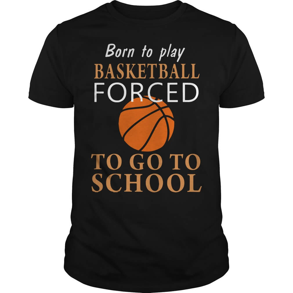 Born to play Basketball forced to go to school
