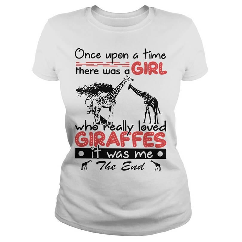 a girl who really loved Giraffes