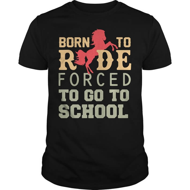 Born to ride forced to go to school