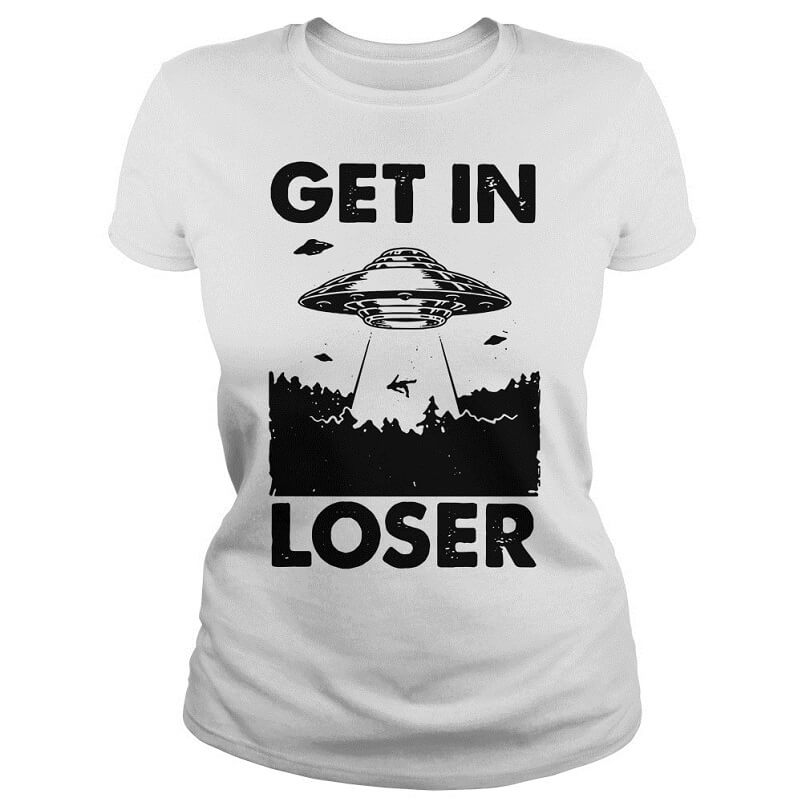 Camping get in loser shirt women