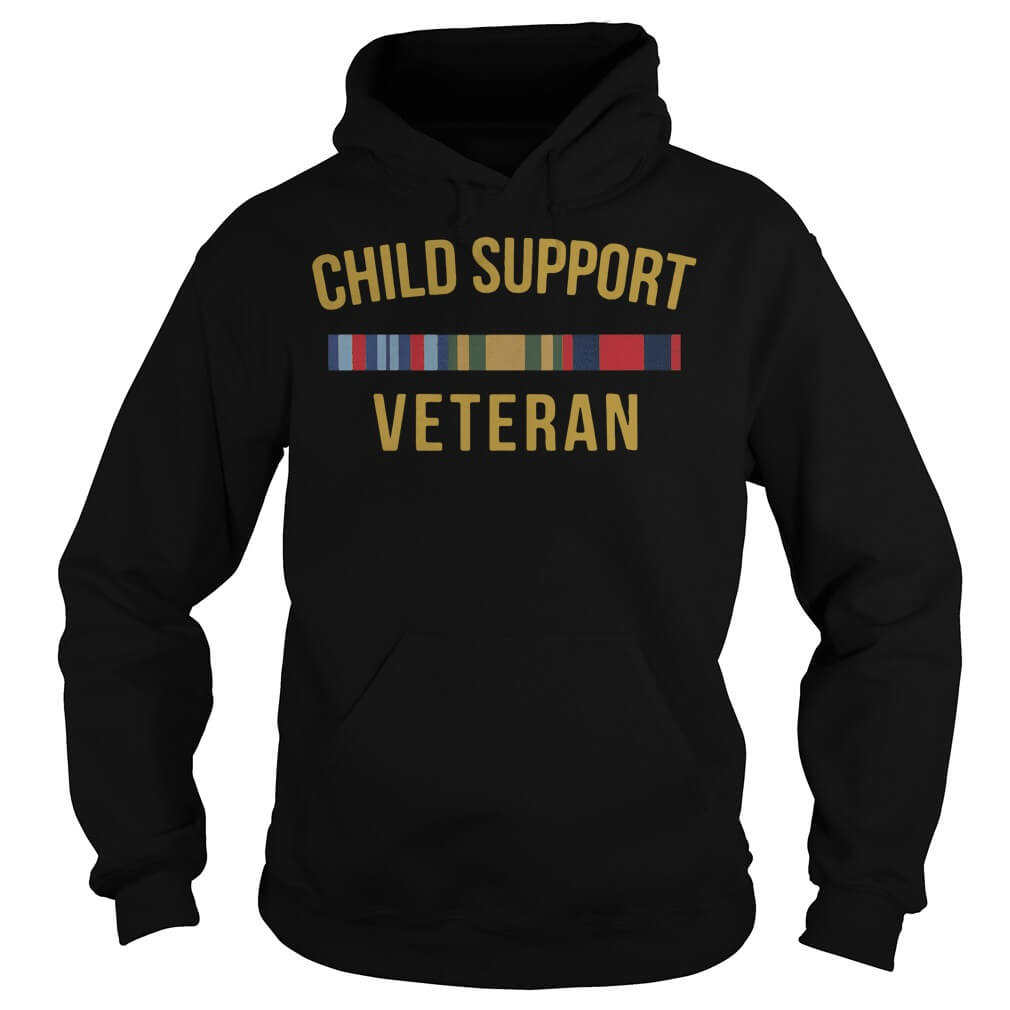 Child Support Veteran hoodie