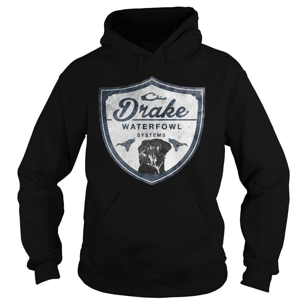 Drake Lab Shield Midnight LS hoodies