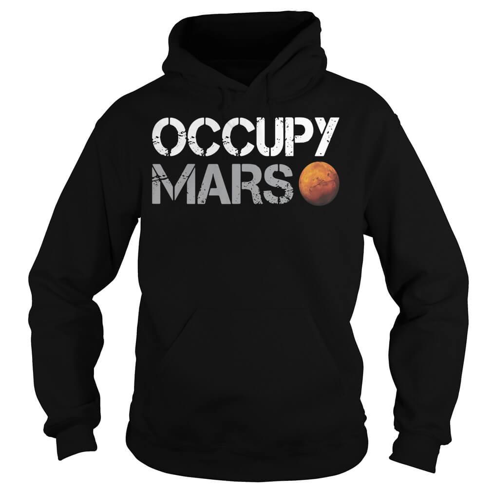 Elon Musk Occupy Mars Hoodie