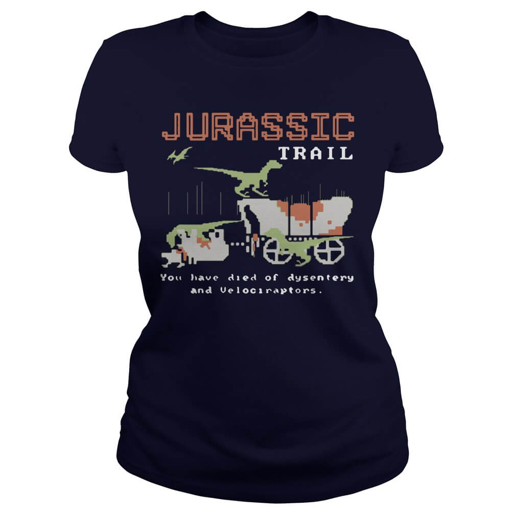Jurassic trail you have died of dysentery and velociraptors girl women