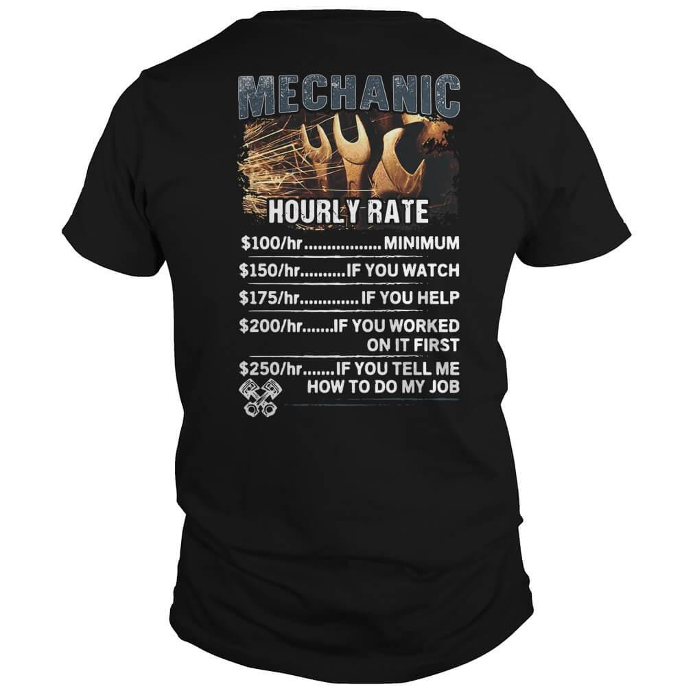 Mechanic hourly rate