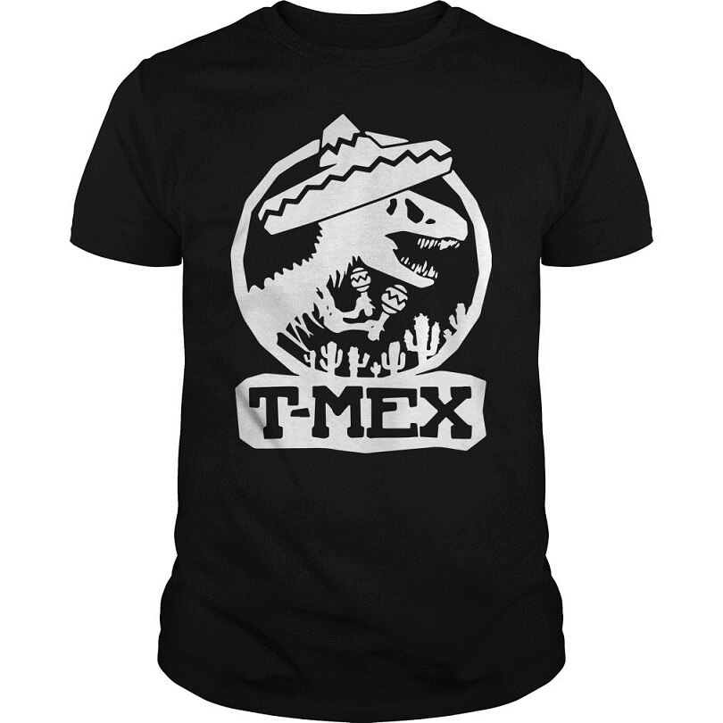 Mexican Dinosaurs T-Mex shirt for men