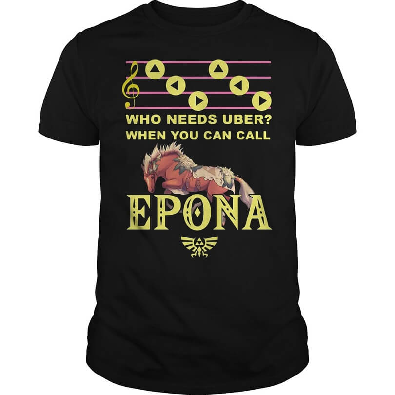 Who needs uber when you can call Epona