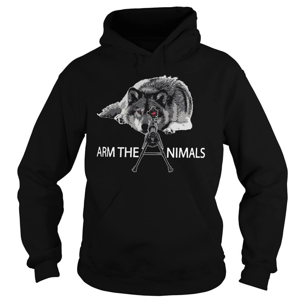 Official Arm the Animals hoodie
