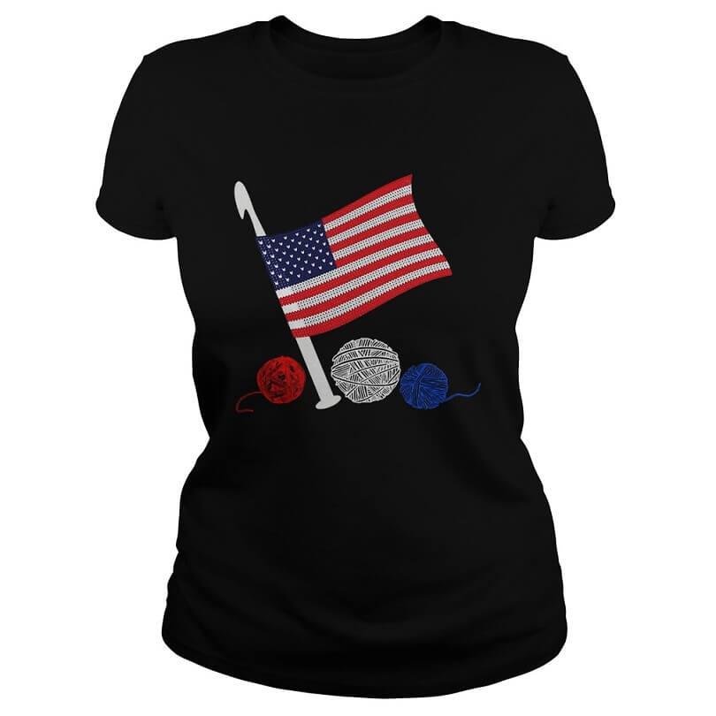 Crochet Flag America