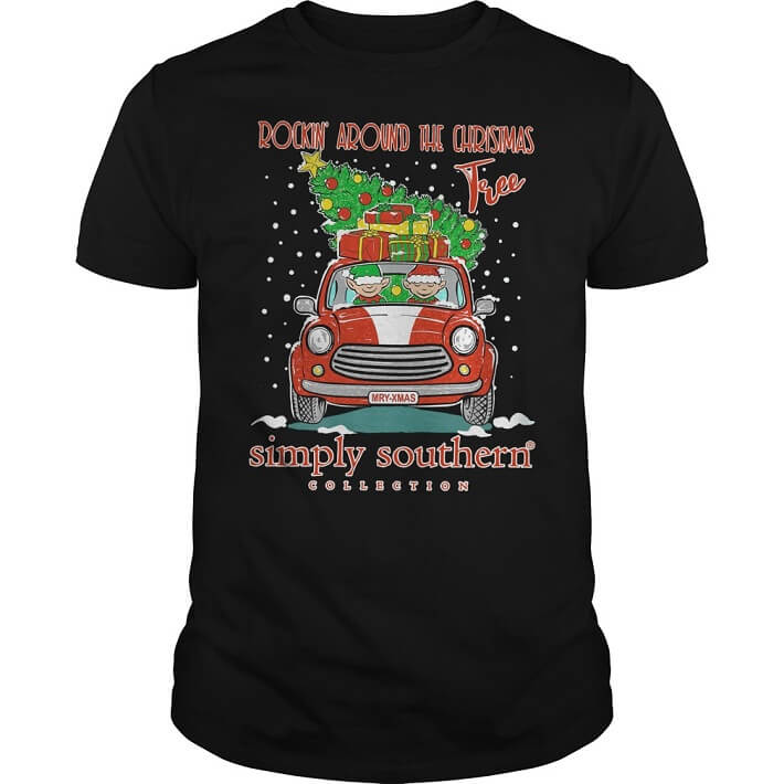 Rockin' around the christmas tree simply southern collection