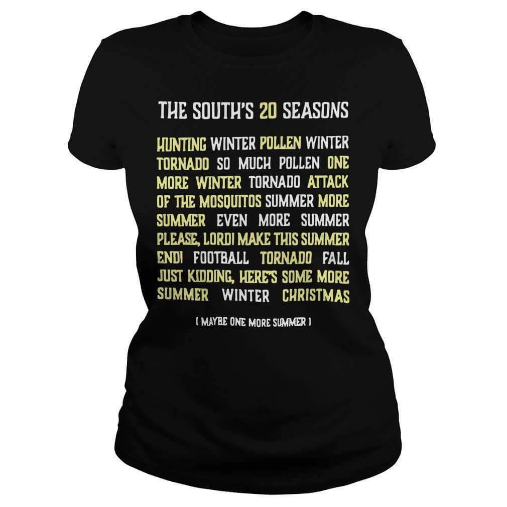 The South's 20 seasons hunting winter pollen winter tornado so much ladies