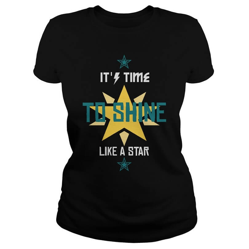 It's time to shine like a star women
