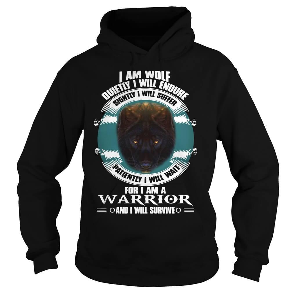 I Will Endure Sightly I Will Suffer I Am A Warrior