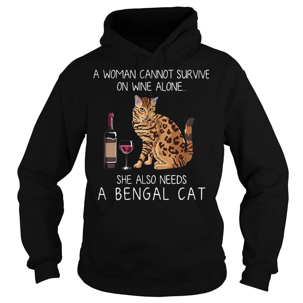 A woman cannot survive hoodie