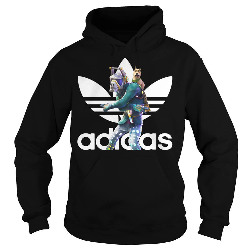 Dancer Adidas Battle Pass Fortnite shirt for men