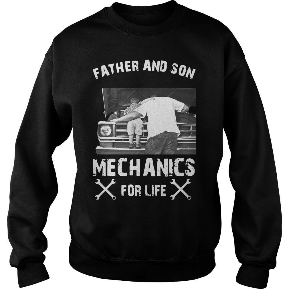 Father And Son Mechanics For Life