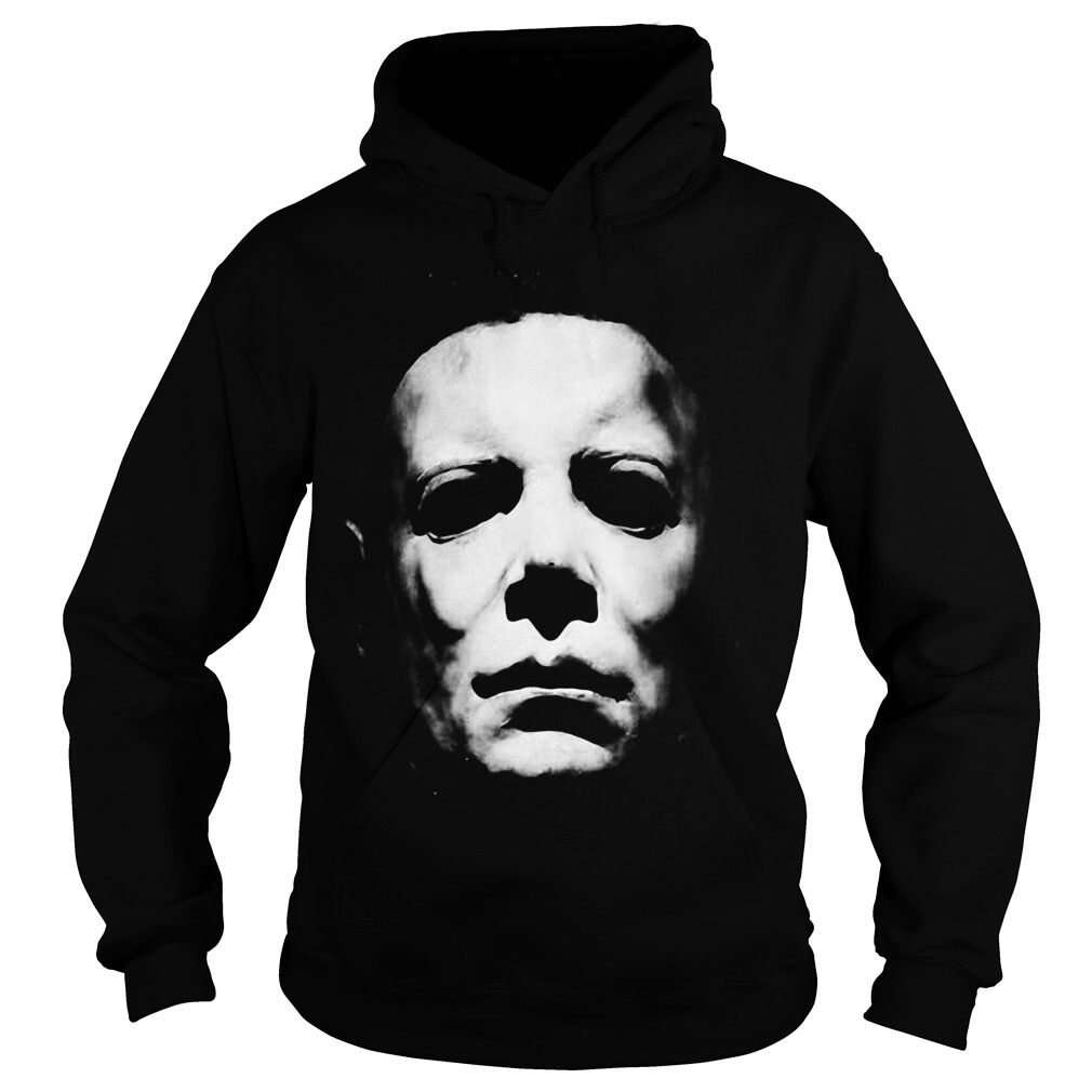 Michael Myers face hoodie