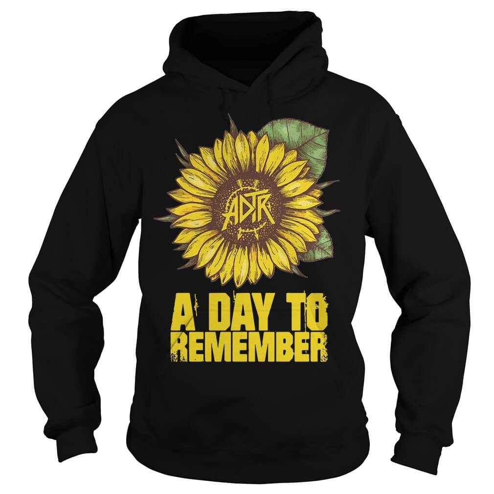 Sunflower a day to remember Hoodie men