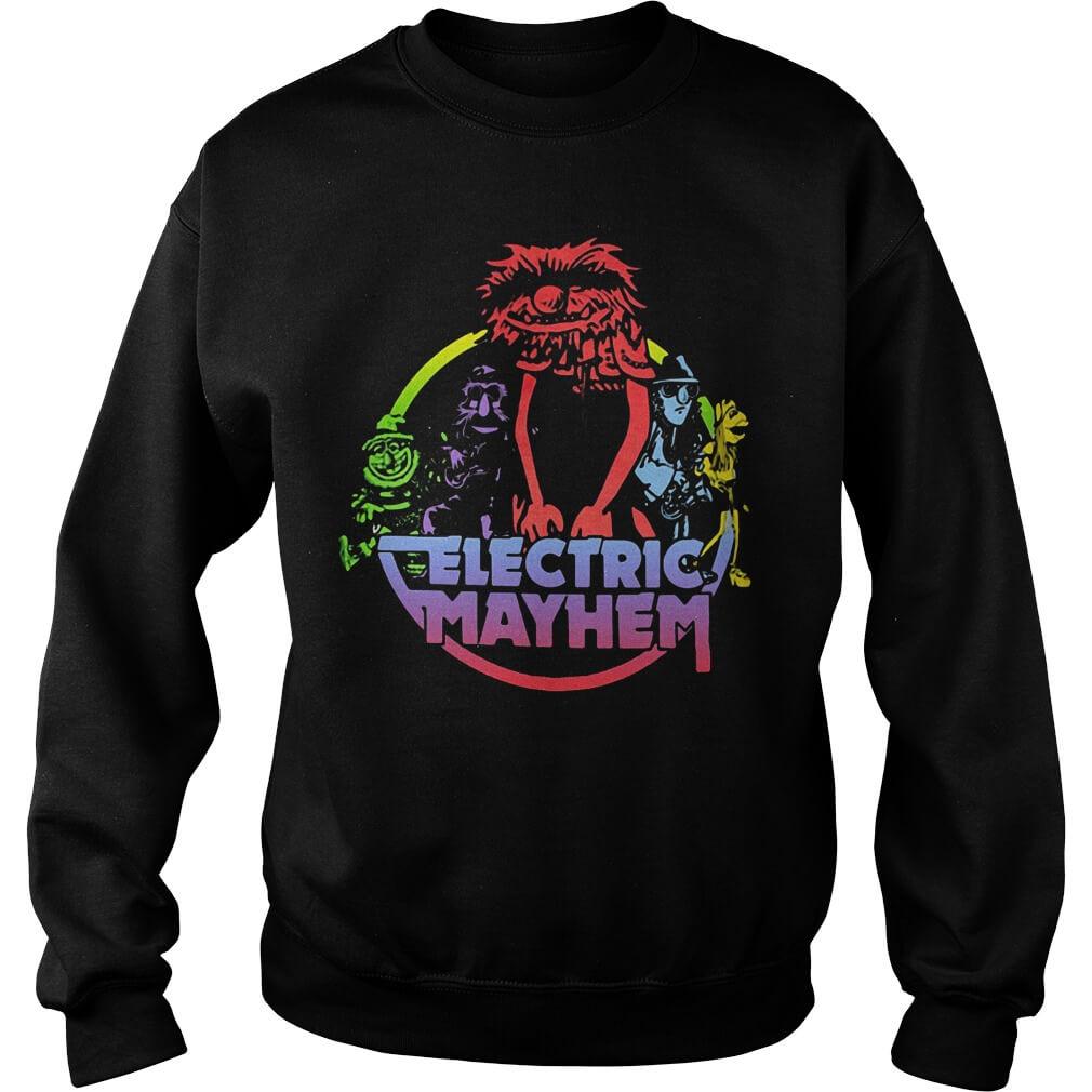 Muppets Electric Mayhem sweater men