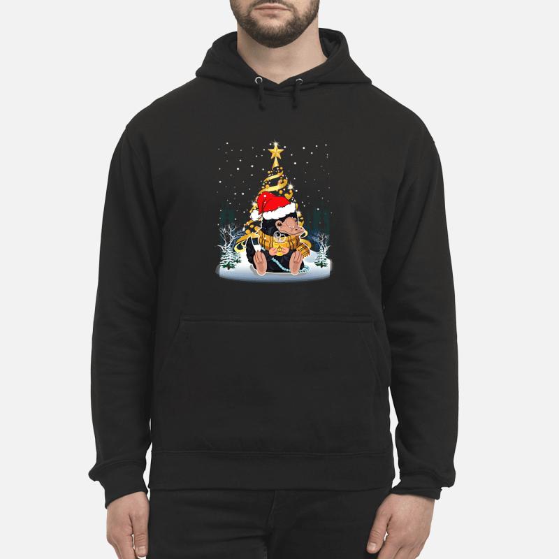 Niffler Santa Christmas tree Fantastic Beasts sweater hoodie men
