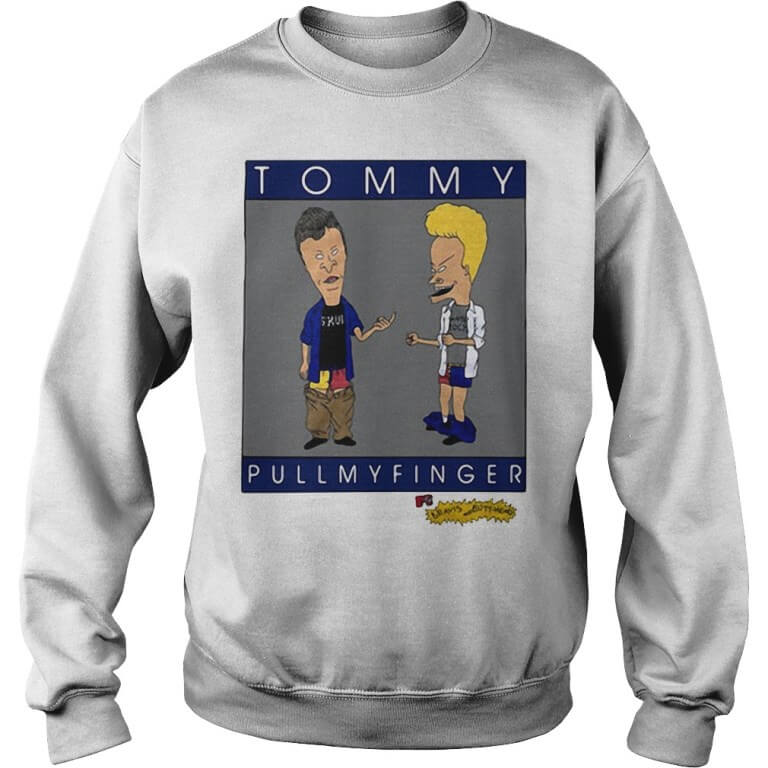 Tommy pull my finger Sweater men