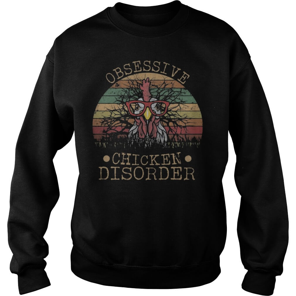 Vintage Obsessive Chicken Disorder Sweater