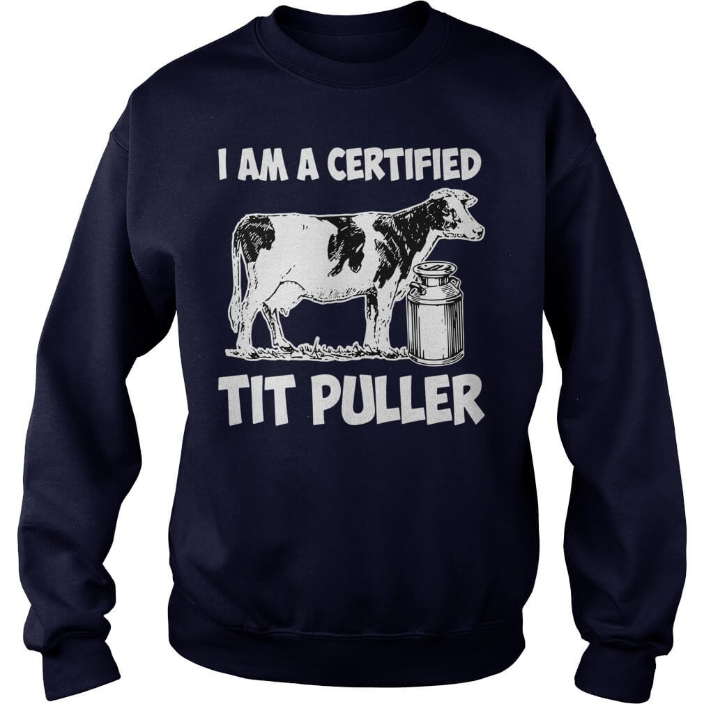 I Am A Certified Tit Puller Long