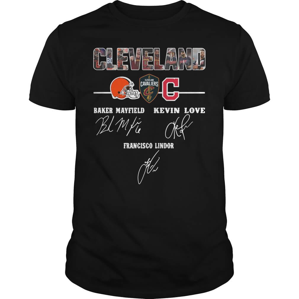 Cleveland Baker Mayfield Kevin Love Francisco Lindor