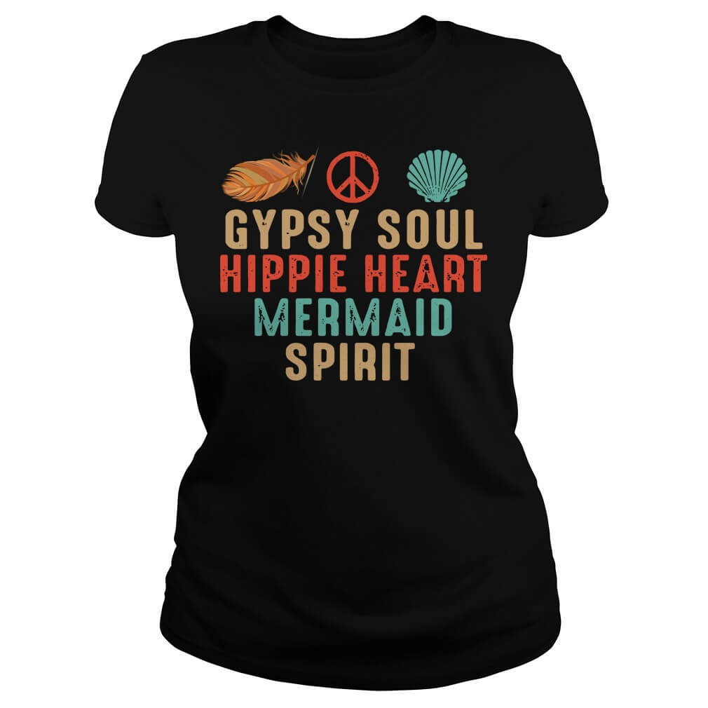 Gypsy Soul Hippie Heart Mermaid Spirit Ladies