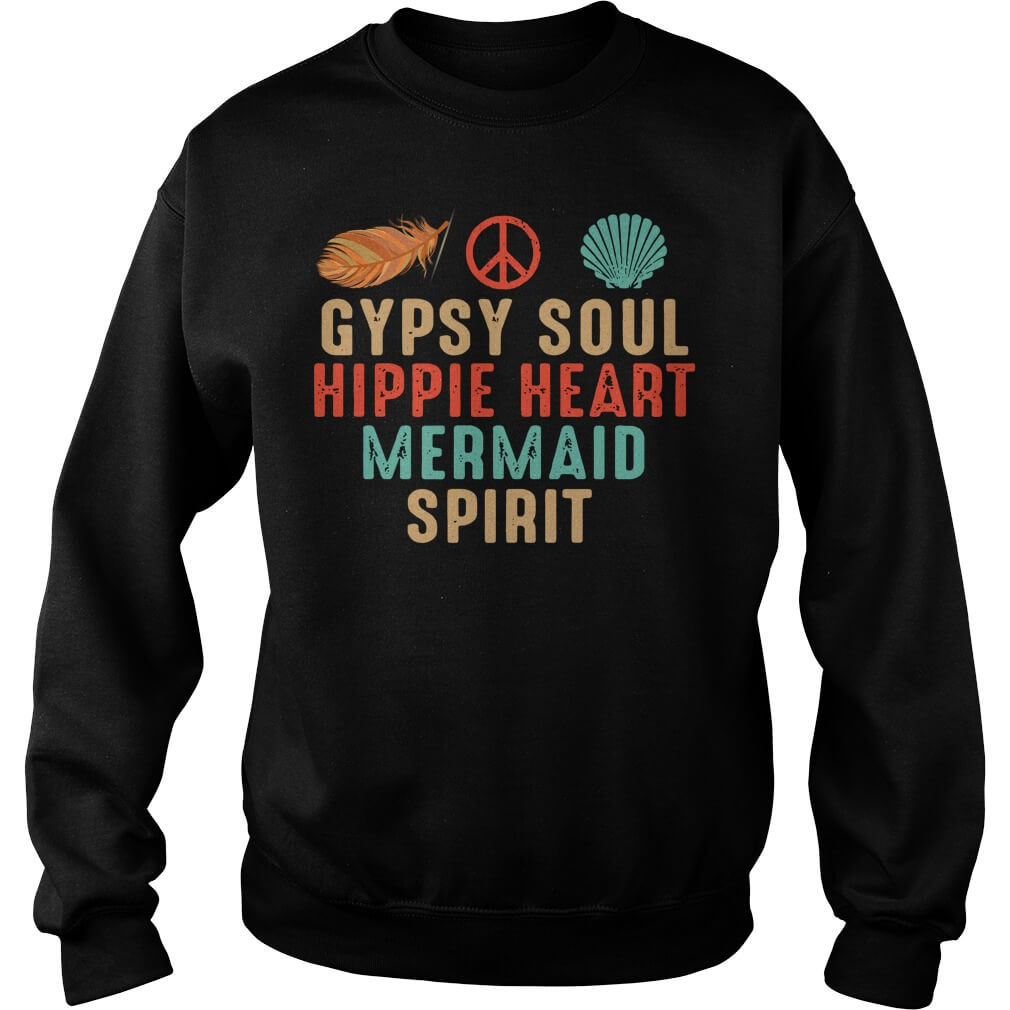 Gypsy Soul Hippie Heart Mermaid Spirit men