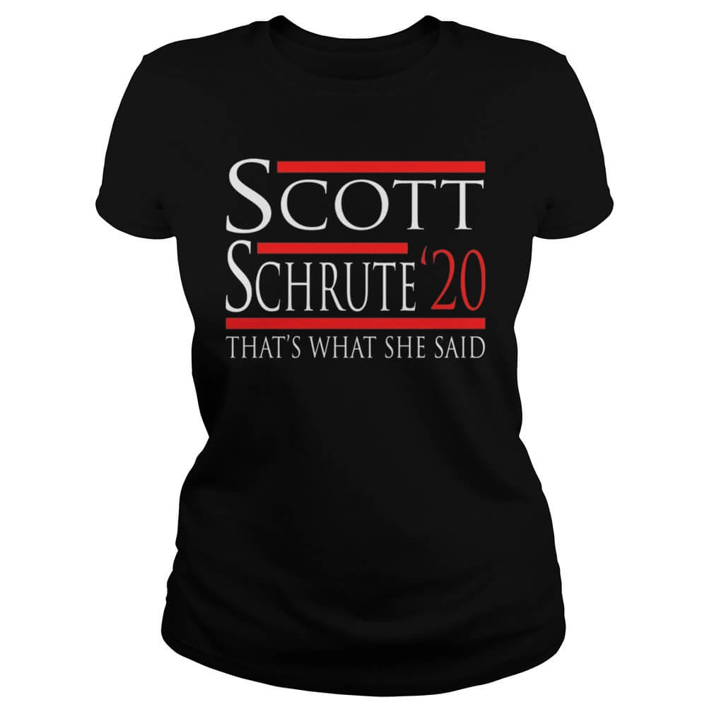 Scott Schrute 2020 – That's What She Said ladies