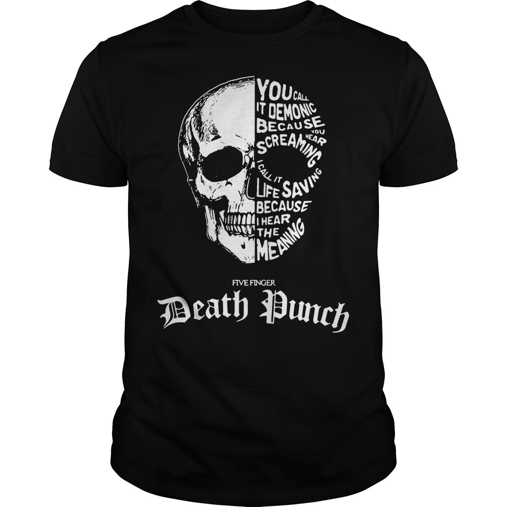 c7209b6e0 Skull Five Finger Death Punch T shirt