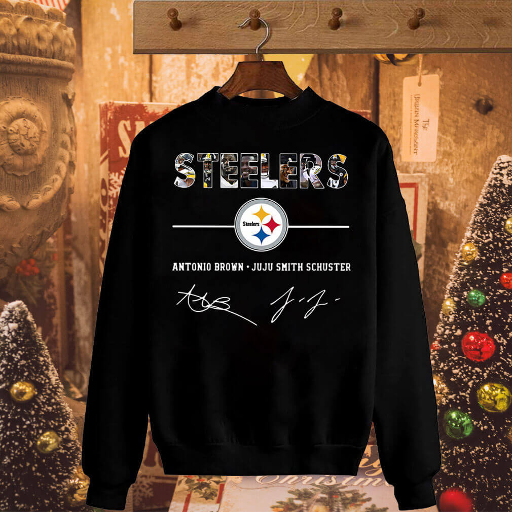 Steelers Antonio Brown Juju Smith Schuster