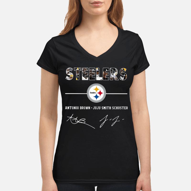 Steelers Antonio Brown Juju Smith Schuster v-neck