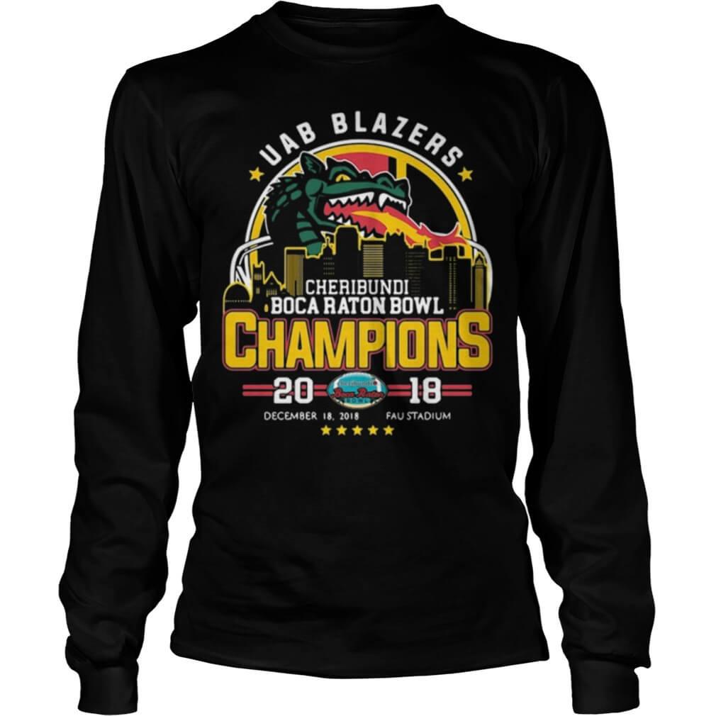 UAB Blazers Cheribundi Boca Raton Bowl Champions