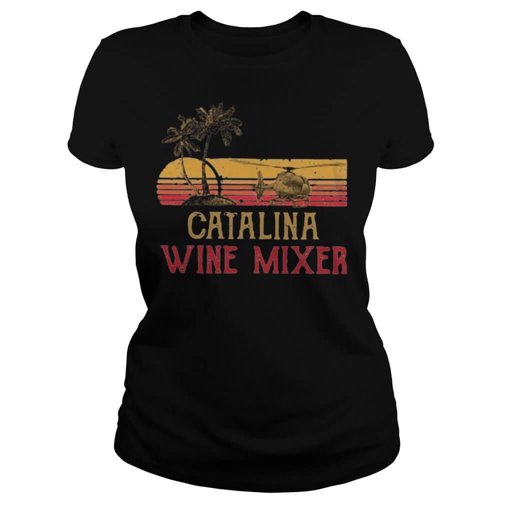 Vintage Catalina wine mixer ladies