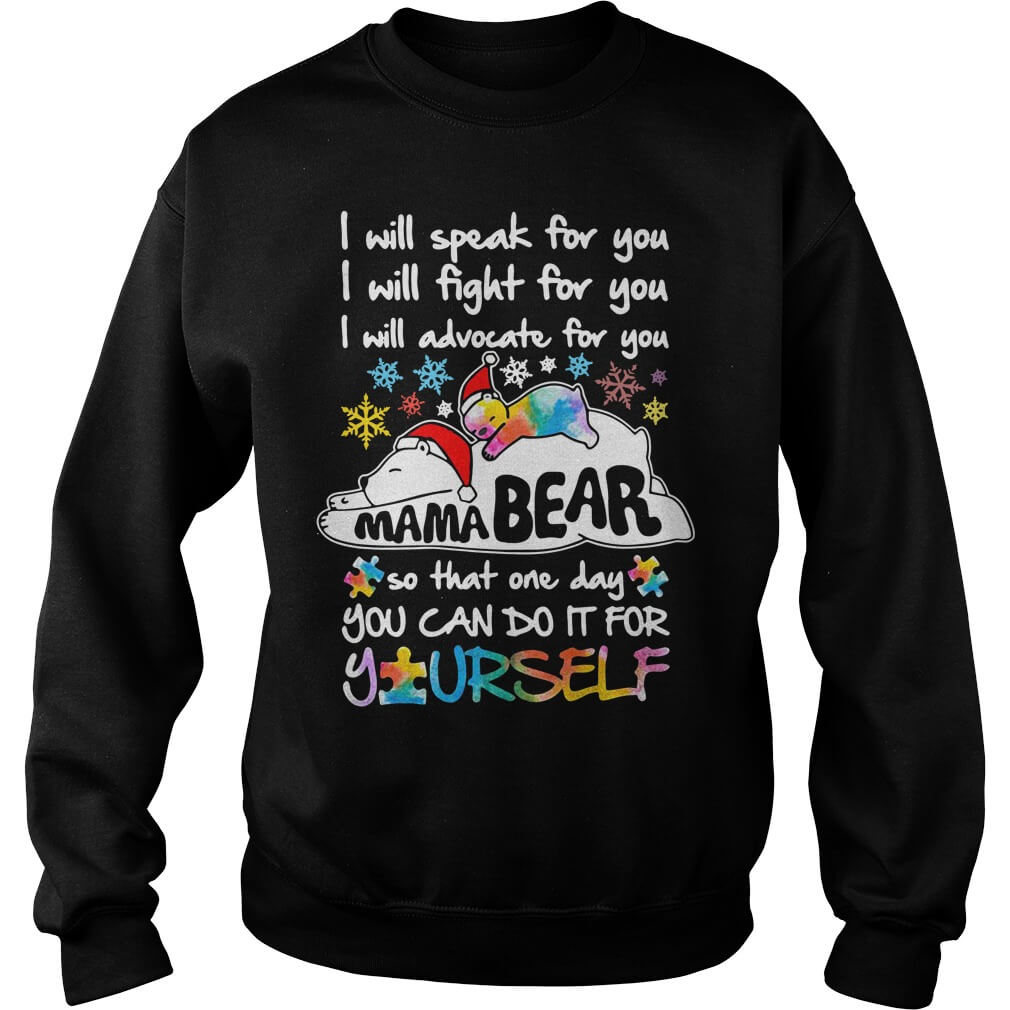 I Will Speak For You I Will Advocate For You tee